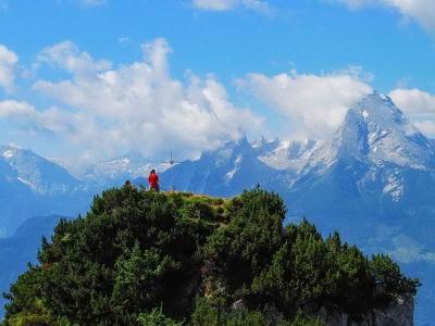 Untersberg mit Rauhkopf und Mittagsloch