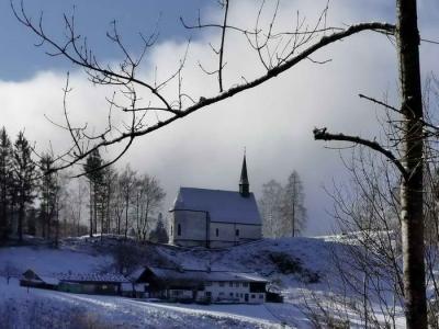 Taubensee ab der Streichenkapelle