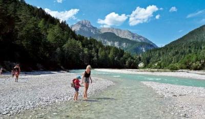 Isarsteig und Karwendelbach