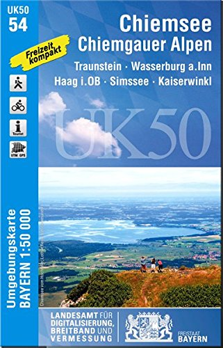 UK50-54 Chiemsee, Chiemgauer Alpen