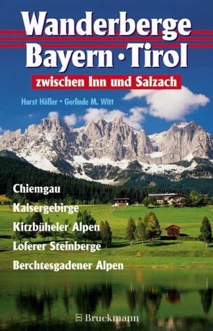 Bayerische Wanderberge, Zwischen Inn und Salzach