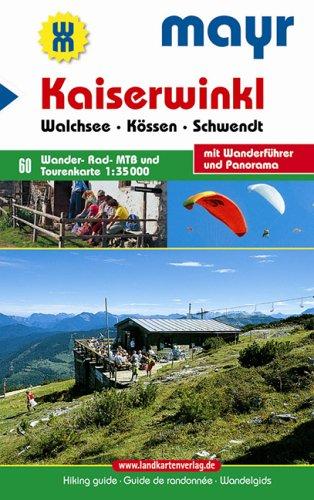 Mayr Wanderkarte Nr. 60 (Kaiserwinkl - Kössen, Walchsee, Schwendt)