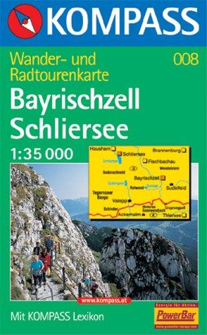 Kompass Karte Bayrischzell, Schliersee