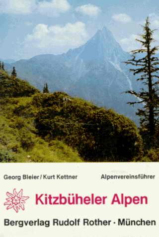 Alpenvereinsführer Kitzbüheler Alpen (vergriffen)