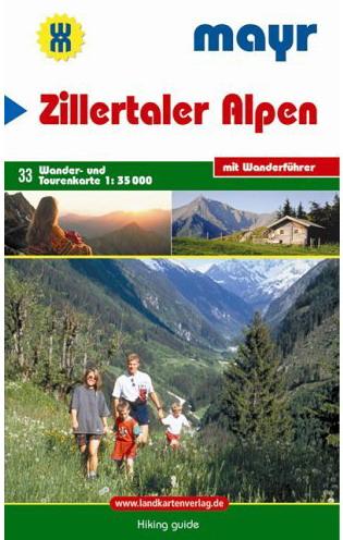 "Mayr Wanderkarte Nr. 33 ""Zillertaler Alpen"""