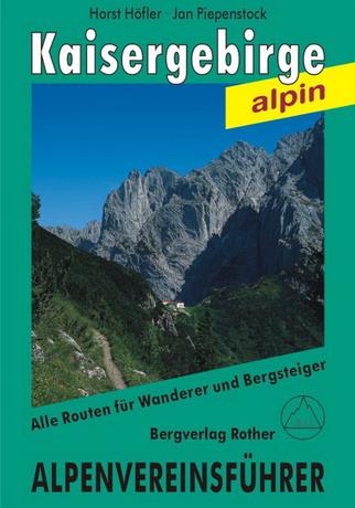 Alpenvereinsführer Kaisergebirge alpin