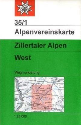 Alpenvereinskarte 35/1