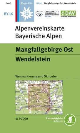 Alpenvereinskarte BY16