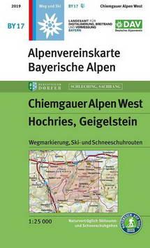 Alpenvereinskarte BY17