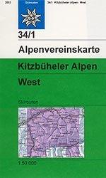 Alpenvereinskarte 34/1