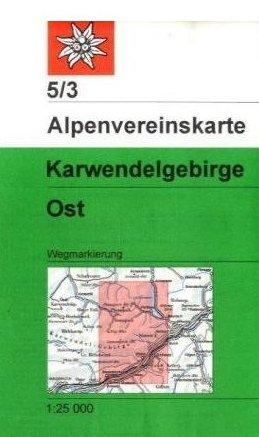 Alpenvereinskarte 5/3