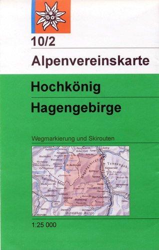 Alpenvereinskarte 10/2