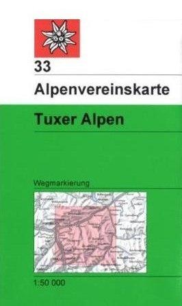 Alpenvereinskarte 33