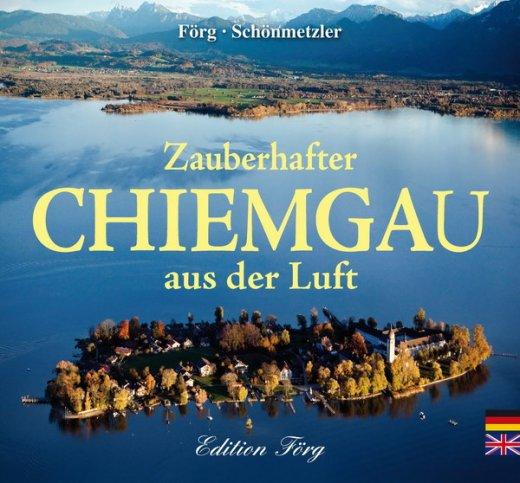 Zauberhafter Chiemgau aus der Luft