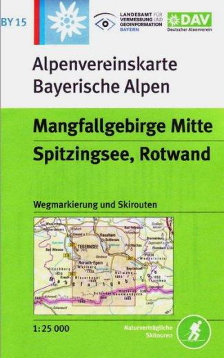 Alpenvereinskarte BY15