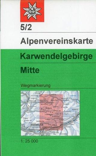 Alpenvereinskarte 5/2