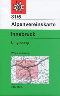 Alpenvereinskarte 31/5