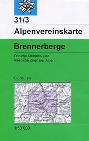 Alpenvereinskarte 31/3