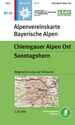 Alpenvereinskarte BY19