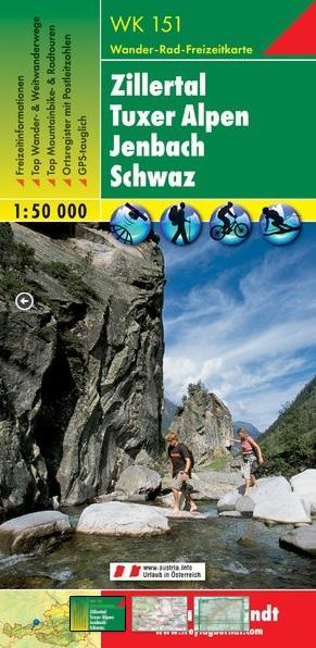 Wanderkarte Freytag & Berndt WK151