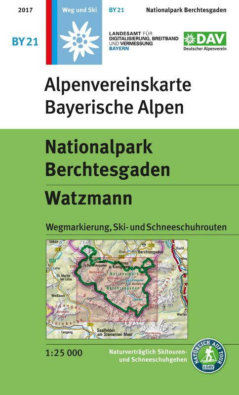 Alpenvereinskarte BY21