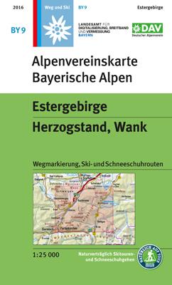 Alpenvereinskarte BY09