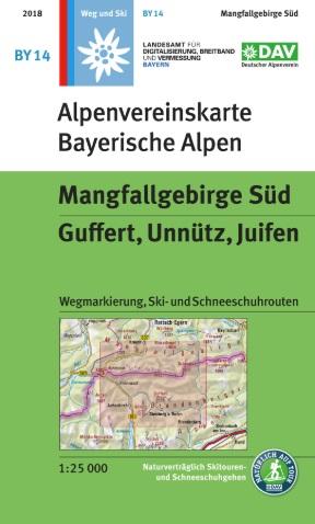 Alpenvereinskarte BY14