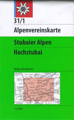 Alpenvereinskarte 31/1