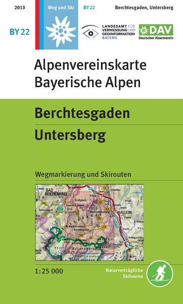 Alpenvereinskarte BY22