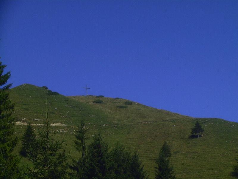 Der Gipfel des Wandbergs
