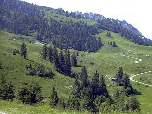 Der letzte Teil der Tour - der Bereich vor der Gori-Alm.