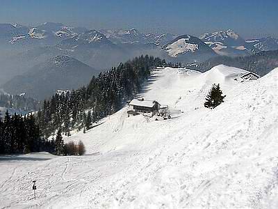 Das Spitzsteinhaus - auf dem Weg zum Gipfel des Spitzsteins
