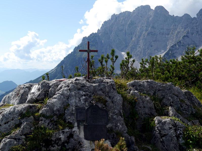 Das Bergsteigergrab auf dem Brennenden Palven