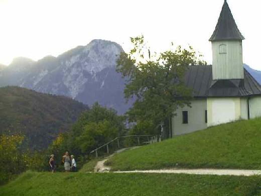 Die Antoniuskapelle im Kaisertal.
