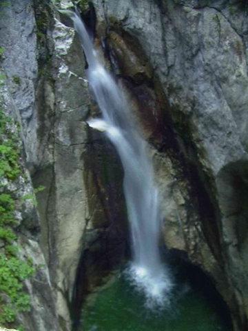 Oberer Wasserfall.