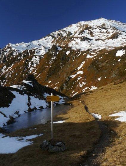 Der Ziel wirkt schon ziemlich nah - bis zum Gipfel dauert es aber von hier aus noch eine gute Stunde.