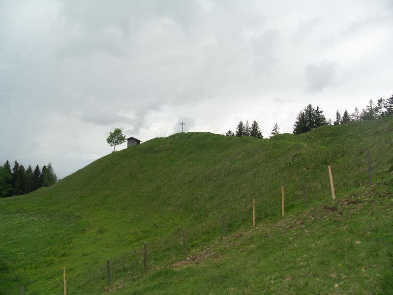 Endstation: Der Gipfel der Karspitze