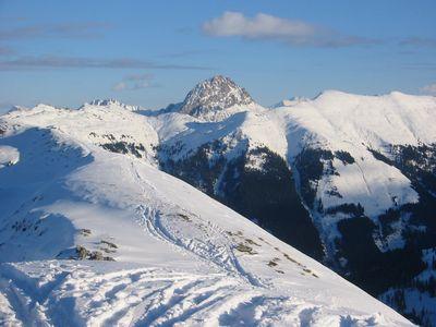 Gipfelblick auf den Großen Rettenstein.
