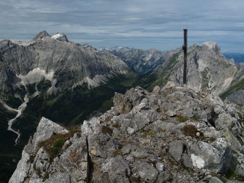 Der Gipfel des Steinfalk