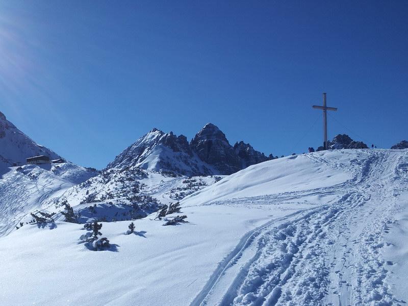 Gipfelanstieg Birgitzköpfl
