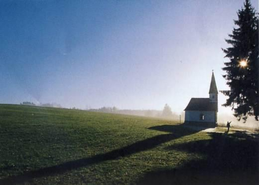 """Die Kapelle """"Zur unbefleckten Empfängnis Mariä"""" bei Ratzing/Herrgottswinkel Foto: Gerhard Hirtlreiter"""