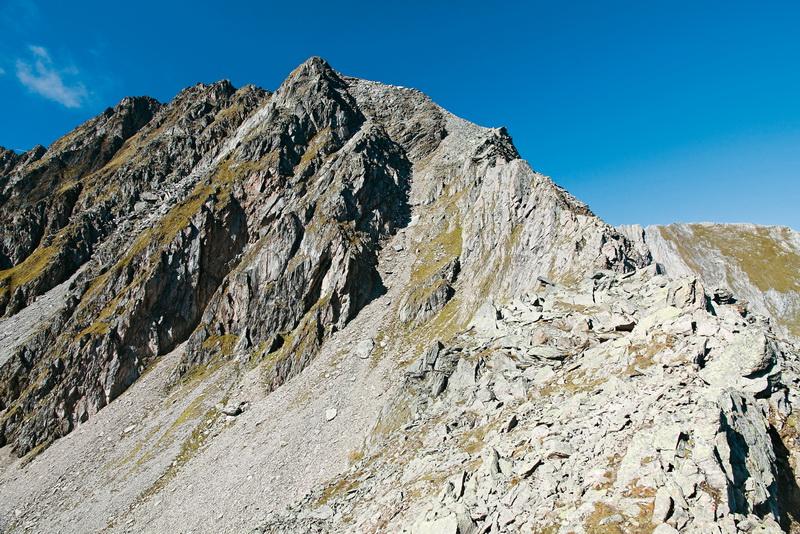 Die Vordere Grinbergspitze ist der Hausberg der Gamshütte. Foto Copyright Mark Zahel