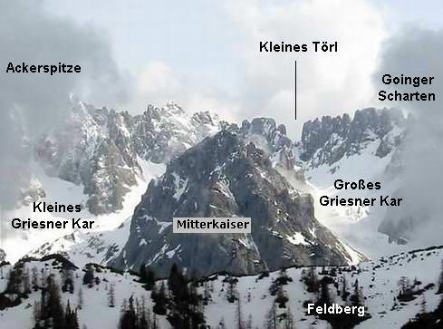 Blick auf das Gebiet vom Scheibenkogel aus.