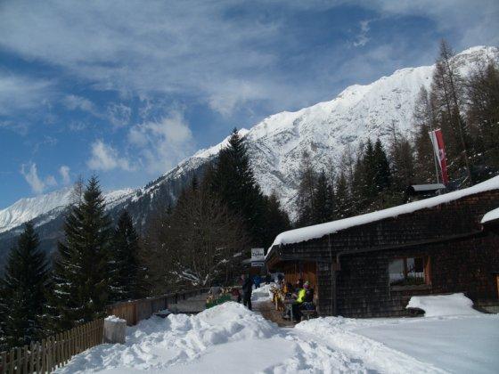 Die Rumer Alm liegt hoch über Innsbruck