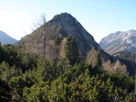 Hier erkennt man die von unten nicht zu sehenden Ausmaße des Gipfelbereichs des Feldbergs.