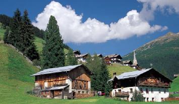 Eine Perle: Durnholz in den Sarntaler Alpen.