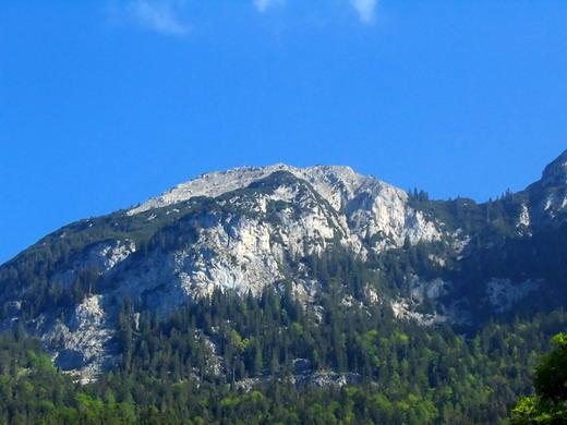 Der Zettenkaiserkopf von Süden.