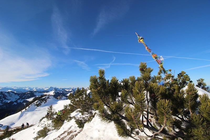 Am Tanzeck-Gipfel