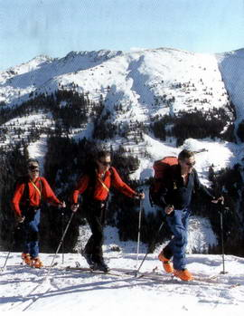 Auch der Aufstieg zum Lämpersberg erfordert einiges an Ausdauer.