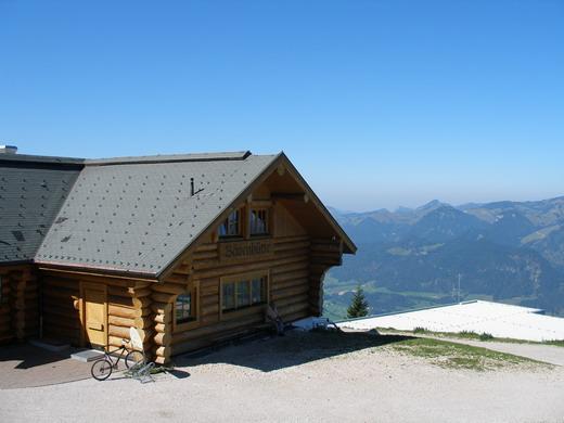 Die Bärenhütte ist das primäre Ziel dieser Tour.
